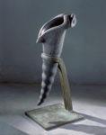 """ Calice "" Granit / Acier - 129 x 57 x 50"